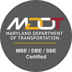 MD Department of Transportation: MBE, DBE, SBE Certified logo